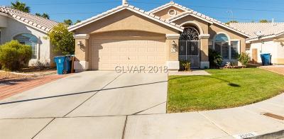 Las Vegas Single Family Home For Sale: 2009 Diamond Brook Court
