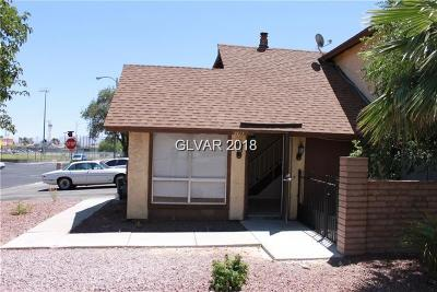 Las Vegas Condo/Townhouse For Sale: 4415 Sirius Avenue