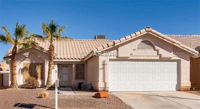 Las Vegas Single Family Home For Sale: 3842 Coleman Street