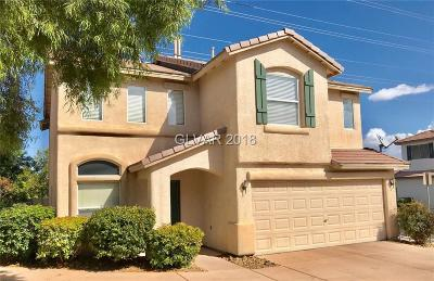 Las Vegas Single Family Home For Sale: 10341 Montana Mountain Street