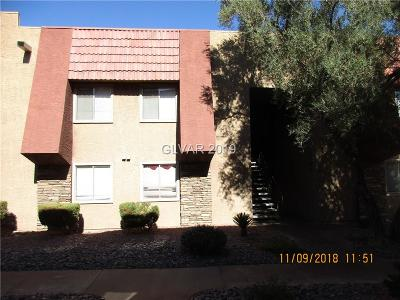 Las Vegas Condo/Townhouse For Sale: 4361 Alexis Drive #338