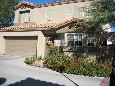 Las Vegas Single Family Home For Sale: 3242 Cheltenham Street