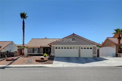 Las Vegas Single Family Home For Sale: 8217 Gilette St Avenue