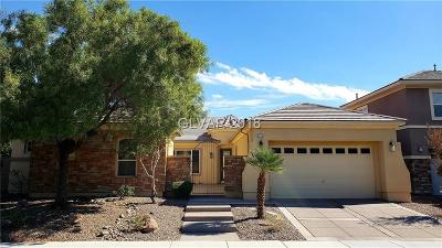 Las Vegas Single Family Home For Sale: 8552 Grand Palms Circle