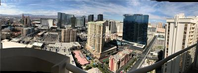 Las Vegas High Rise Under Contract - No Show: 145 Harmon Avenue #3705