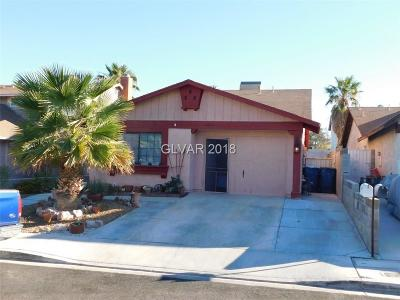 Las Vegas Single Family Home For Sale: 6657 Fredonia Drive