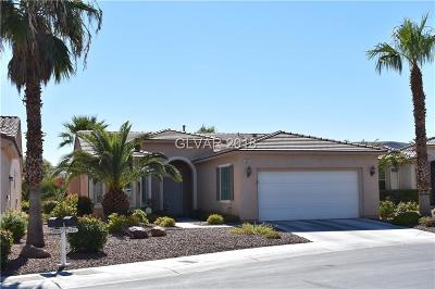 Las Vegas Single Family Home For Sale: 10211 Maggira Place