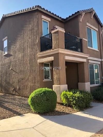Las Vegas Condo/Townhouse For Sale: 4523 Townwall Street