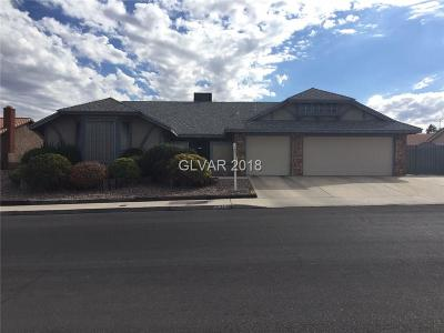 Las Vegas Single Family Home For Sale: 6357 Obannon Drive