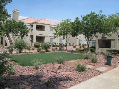 Las Vegas Condo/Townhouse For Sale: 8600 Charleston Boulevard #1088