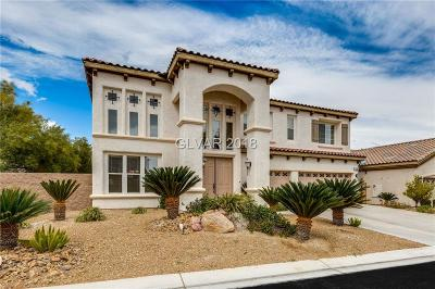Las Vegas Single Family Home For Sale: 11593 Bollinger Lane