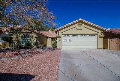 North Las Vegas NV Single Family Home Under Contract - No Show: $272,000