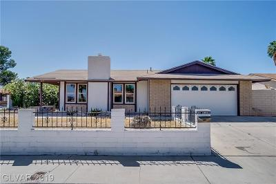 Las Vegas NV Single Family Home Under Contract - No Show: $269,000