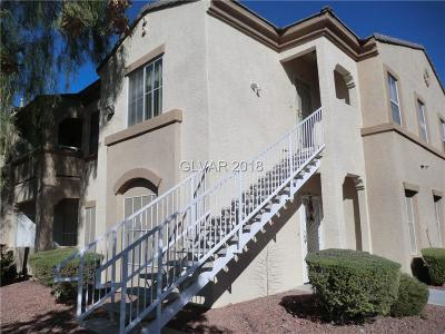 Las Vegas Condo/Townhouse For Sale: 3400 Cabana Drive #2123