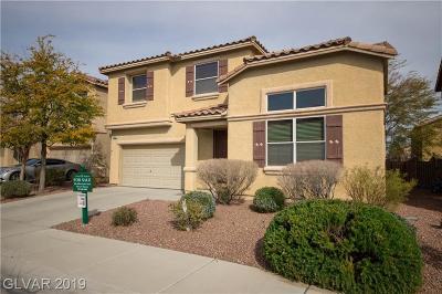 Las Vegas Single Family Home For Sale: 5850 Ancona Drive