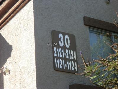 Las Vegas Condo/Townhouse For Sale: 3400 Cabana Drive #2124
