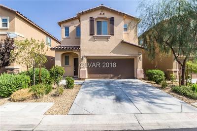 Las Vegas Single Family Home For Sale: 468 Stonegate Meadow Avenue