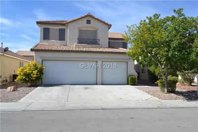 North Las Vegas Single Family Home For Sale: 5627 Indian Springs Street