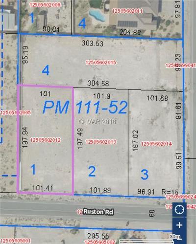 Las Vegas Residential Lots & Land For Sale: 8730 Ruston Road