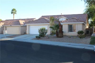 Las Vegas Single Family Home For Sale: 7921 Sierra Rim Drive