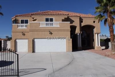 Las Vegas Single Family Home For Sale: 1931 Del Font Court