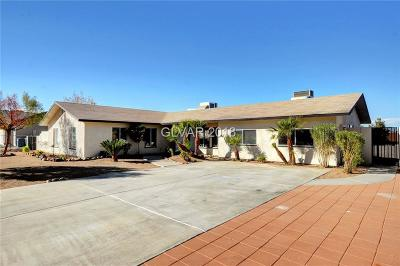 Henderson Single Family Home For Sale: 280 East Rancho Drive