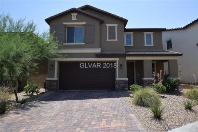 Las Vegas NV Single Family Home For Sale: $509,700
