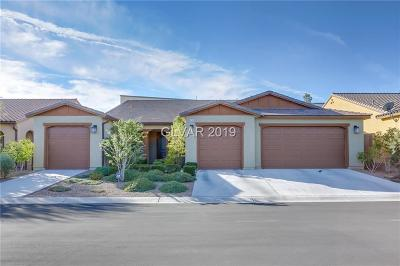 Las Vegas NV Single Family Home Under Contract - No Show: $486,000