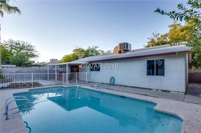 Las Vegas NV Single Family Home For Sale: $261,500