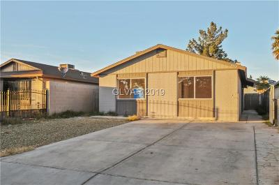 Las Vegas NV Single Family Home For Sale: $227,000