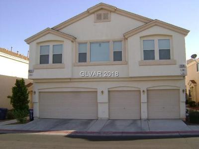 Las Vegas NV Condo/Townhouse For Sale: $210,000
