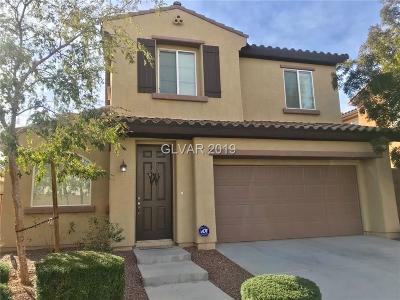 Las Vegas  Single Family Home For Sale: 10741 Mentesana Avenue