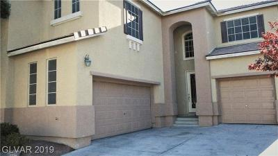 North Las Vegas Single Family Home For Sale: 7073 Seabirds Place