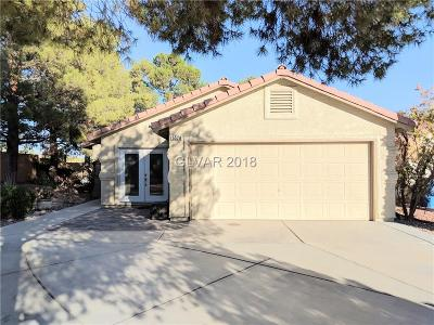 Las Vegas Single Family Home For Sale: 5528 Cranwood Court