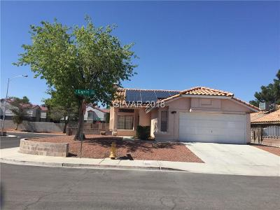 Las Vegas Single Family Home For Sale: 1150 Lyric Lane