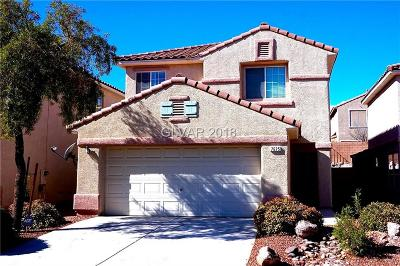 Las Vegas Single Family Home Under Contract - No Show: 7625 Concord Heights Street