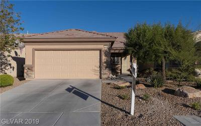 North Las Vegas Single Family Home For Sale: 7576 Lily Trotter Street