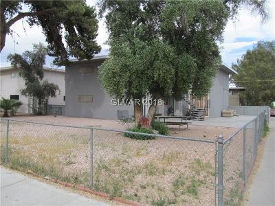 Las Vegas Multi Family Home For Sale: 3370 Athens Street