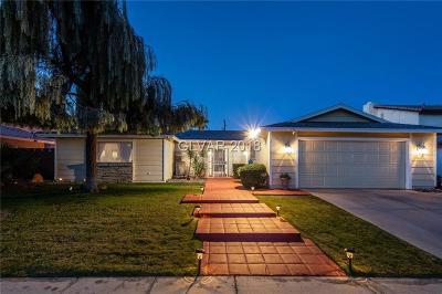 Las Vegas, North Las Vegas, Henderson Single Family Home For Sale: 4020 Paul Robarts Court