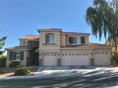 North Las Vegas Single Family Home Under Contract - No Show: 1309 Barrington Oaks Street