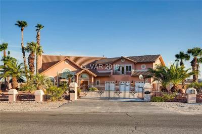 Las Vegas Single Family Home Under Contract - No Show: 9155 Stange Avenue