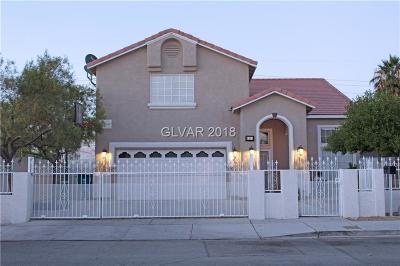 Las Vegas  Single Family Home For Sale: 4814 Nevada Avenue