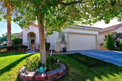 North Las Vegas Single Family Home For Sale: 3111 Saleen Court