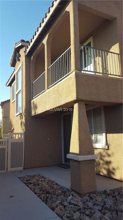 Henderson NV Condo/Townhouse For Sale: $275,000