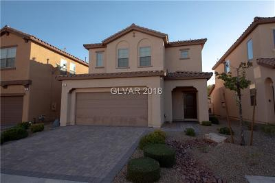 Las Vegas Single Family Home Under Contract - No Show: 42 Tribute Peak Way