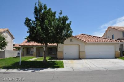 North Las Vegas Single Family Home For Sale: 921 Stable Glen Drive #.