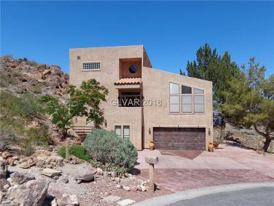 Boulder City Single Family Home For Sale: 860 Reese Place