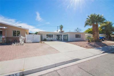 Boulder City Single Family Home For Sale: 529 Shoshone Way