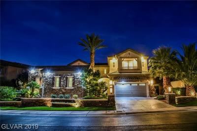 Las Vegas Single Family Home For Sale: 1911 Alcova Ridge Drive