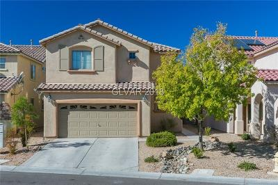 Las Vegas Single Family Home For Sale: 10543 Bella Camrosa Drive